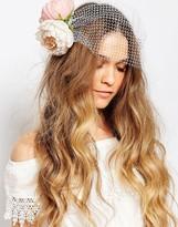 Orelia Flower & Net Hair Clips