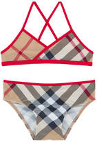 Burberry Nova check print swimsuit