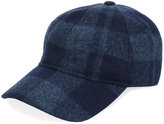 A.P.C. checked baseball cap