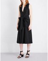Tome Sleeveless Cotton Midi Dress