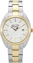 Original Penguin Men's OP3030GD Rex Quartz Analog Gold Tone Bezel Watch