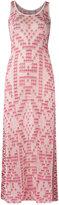 Cecilia Prado knit maxi dress - women - Viscose/Acrylic/Lurex - P