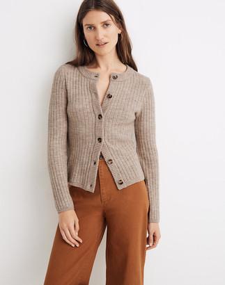Madewell Merritt Shrunken Cardigan Sweater