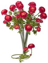 Nearly natural 12-pc. Silk Ranunculus Stem Set