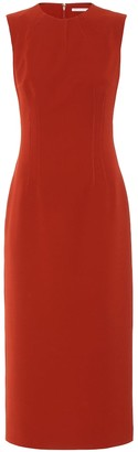 Emilia Wickstead Crepe midi dress