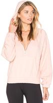 Free People Retro Vibes Hoodie in Pink