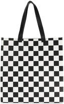 MSGM chequered tote bag