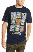 Nickelodeon Teenage Mutant Ninja Turtles Men's Family Squares Portrait Vintage T-Shirt