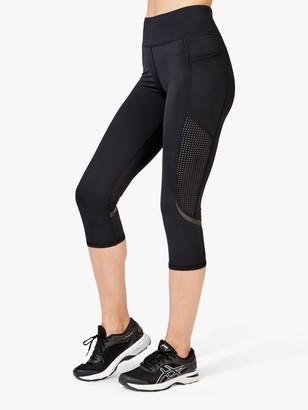Sweaty Betty Zero Gravity Cropped Running Leggings, Black