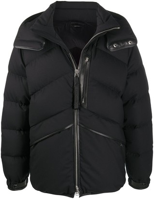 Tom Ford Oversized Quilted Zipped Puffer Jacket
