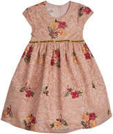 Laura Ashley Floral Embroidered Lace Dress, Size 2-6X