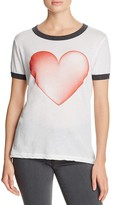 Wildfox Couture Heart Ringer Tee