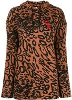 Calvin Klein New York print hoodie