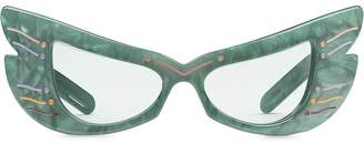 Gucci Butterfly Frame Sunglasses