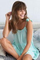 aerie Tiered Tassel Dress