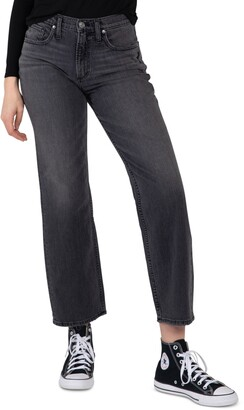 Silver Jeans Co. Frisco Straight-Leg Jeans