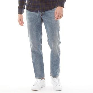 Diesel Mens Larkee Beex Pantaloni 084UX Tapered Jeans Blue