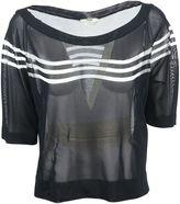 Fendi Stripe Detailing T-shirt