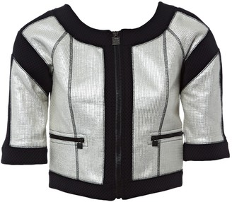 Chanel Silver Polyester Jackets