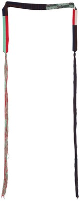 Jil Sander Intarsia & Jacquard Cotton Belt