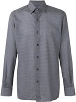 Tom Ford circular print classic shirt