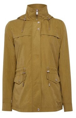 Dorothy Perkins Womens Only Khaki Green Jacket, Khaki