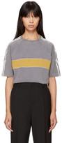 Wales Bonner Grey George Stripe T-shirt