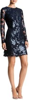 Dress the Population Grace Sequined Lace Dress