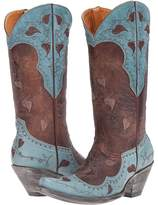 Old Gringo Hearth Leaves Cowboy Boots