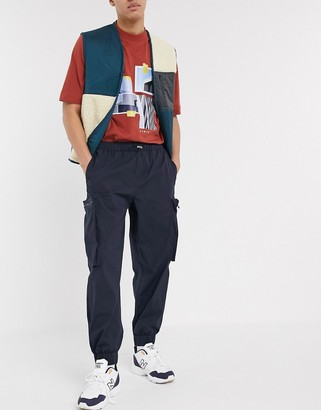 ASOS tapered joggers with 3D cargo pockets