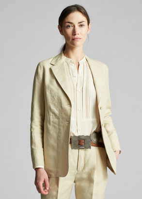 Ralph Lauren Linen Riding Jacket