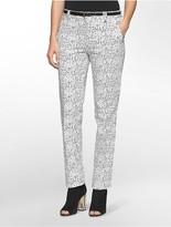 Calvin Klein Essential Skinny Speckle Print Pants
