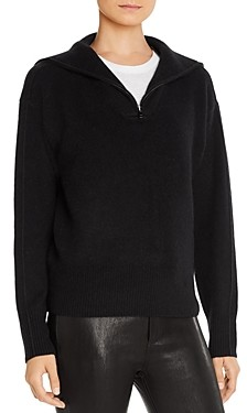 C by Bloomingdale's Half-Zip Cashmere Sweater - 100% Exclusive