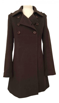 Tara Jarmon Brown Wool Coats