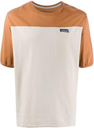Patagonia colour block T-shirt