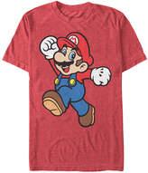 Fifth Sun Heather Red Super Mario Jump Tee - Men's Regular