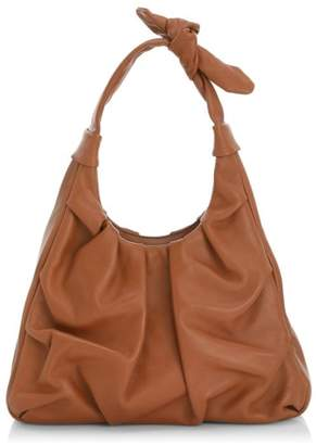 STAUD Island Knotted Leather Tote