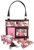 2 Red Hens Whole Roost Cotton Candy Diaper Bag by