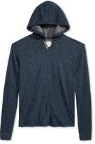 Lucky Brand Men's Lived In Split-Neck Hooded Sweatshirt