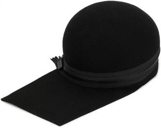 Yohji Yamamoto Zip-Detail Cap