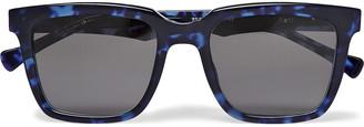Native Sons Kent Square-Frame Tortoiseshell Acetate Sunglasses