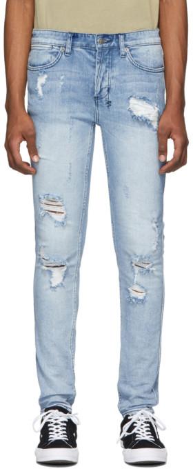 Blue Van Winkle Trashed Dreams Jeans