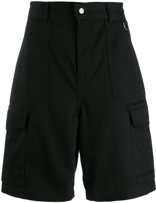 Ami Men Patch Pockets Bermuda Shorts