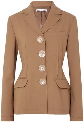 REJINA PYO Etta Button-detailed Wool-twill Blazer