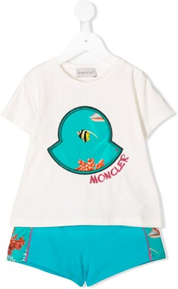 Moncler Enfant T-shirt and shorts set