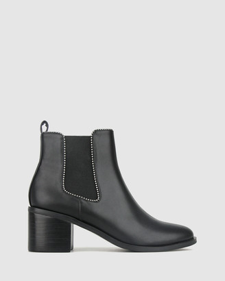 betts Hyper Block Heel Ankle Boots