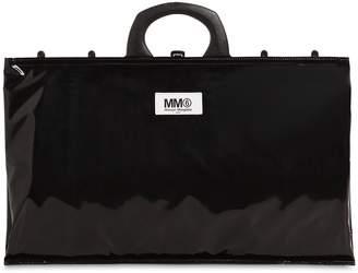 MM6 MAISON MARGIELA Logo Pvc Shopping Bag