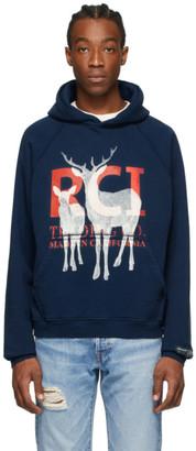 Reese Cooper Blue Aged RCI Deer Hoodie