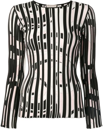 Emilio Pucci Fortuna Intarsia Striped Jumper