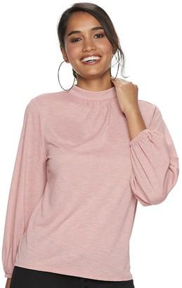 JLO by Jennifer Lopez Women's Mock Neck Pullover